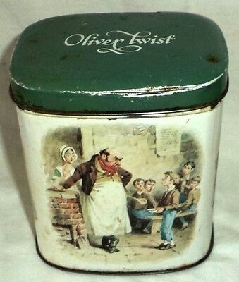 Oliver Twist Candy Tin Craven & Son Candyland York England