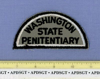 WASHINGTON STATE PENITENTIARY (Old Vintage) CORRECTIONS Police Patch PRISON JAIL