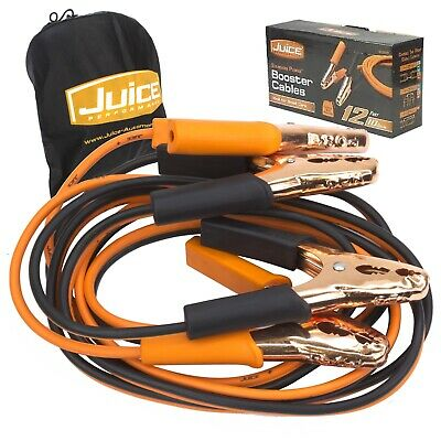 250 Amp Battery Jump Start Starter Booster Leads Cables Jumper Car New Bc0800