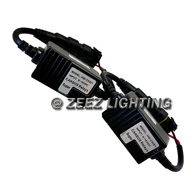 Universal HID Canbus Decoder Bulb Out Error Free Warning Canceller Anti-Flicker
