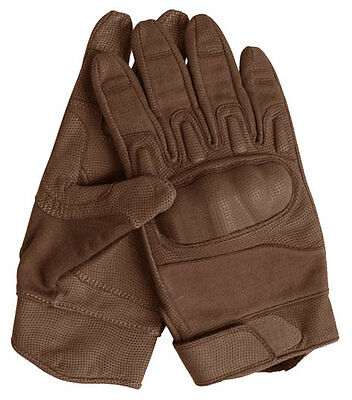Nomex Action Gloves coyote, Army, Security, SWAT, Outdoor -NEU