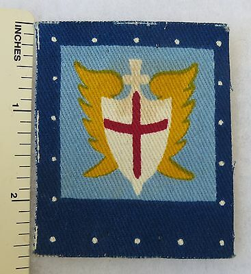 Printed ORIGINAL WW2 Vintage ALLIED LAND FORCES SOUTHEAST ASIA BRITISH PATCH