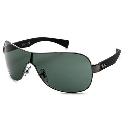 e9c842a2cc New Ray Ban Rb3471 004 71 Youngster Gunmetal Black Grey Green Lenses  Sunglasses