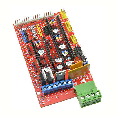 11.5CM 3D Printer RAMPS 1.4 Control Boards Print Control Reprap Boards Hot