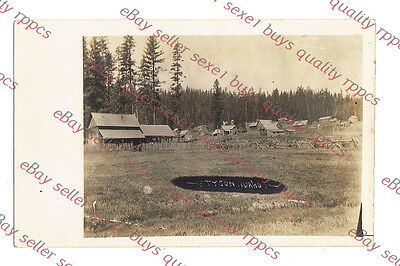 DPO 1901-18 TYSON IDAHO TOWN VIEW   - circa 1915 rppc Photo GRADE 5