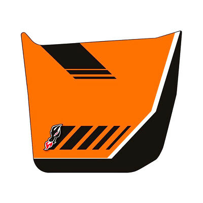 DragonFire ReadyForce Door Graphics Polaris RZR XP 900 2014 Orange Madness LE
