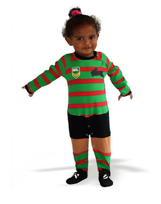 South Sydney Rabbitohs NRL Footysuit All-in-one Romper 2
