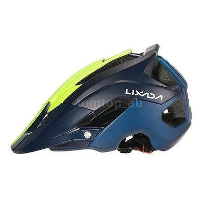 Unisex Adult Bike Bicycle Cycling Outdoor Safety Helmet with 13 Vents Visor V7R2