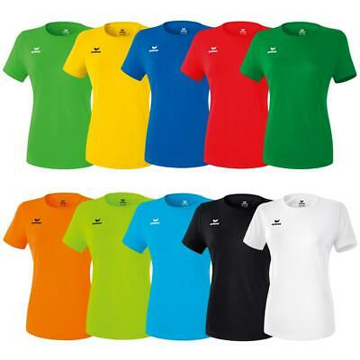 Erima Funktions Teamsport T-Shirt Damen Sport Tshirt Trainingsshirt Frauen