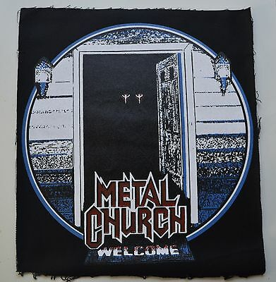 METAL CHURCH the dark BACK PATCH venom celtic frost metal iron maiden slayer dio