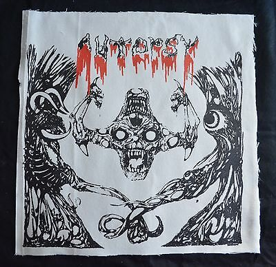 AUTOPSY live from the grave BACK PATCH entombed morgoth grave bathory venom