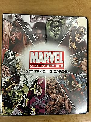 Marvel Universe 2011 Official Rittenhouse Binder