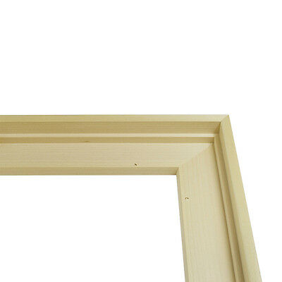 Jacksons Inlay Frame : Stepped Tulip Wood for Canvas : 50x50cm : Standard