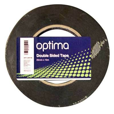 Double Sided Tape 25mm x 10m Paint Cover Repair Garage Workshop Optima OPT.DST25