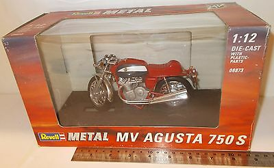 Revell Metal 08873 - MV Agusta 750S Motorcycle - Boxed (Vintage) - (1:12 Scale)