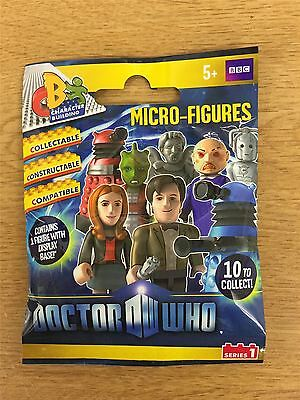 Character Building Doctor Who Series 1 Blind Bag [Contains 1 Random Figure] x1
