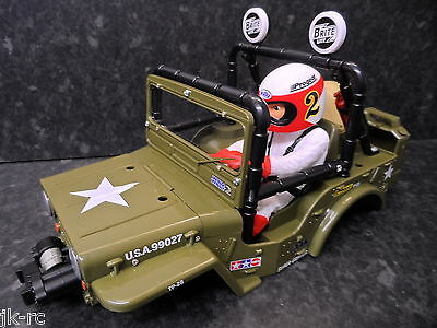 New Tamiya XB 'Wild Willy 2/II' Body, Factory Built, Ready To Use Bodyshell