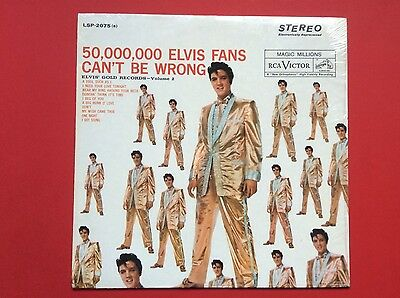 Elvis Presley- Early Sixties Reissue For Elvis Gold Records Volume 2