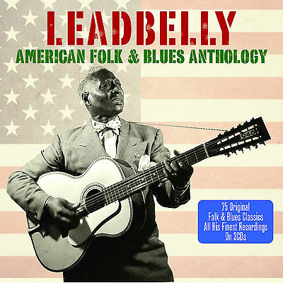Leadbelly - American Folk & Blues Anthology - Best Of - Greatest Hits 3CD NEW