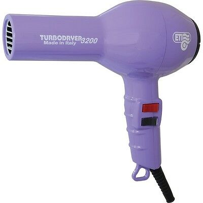 ETI Turbo Hair Dryer 3200 Professional. VIOLET. For Drying hair & Styling