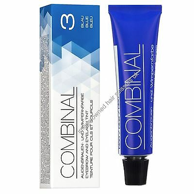 Combinal Eyelash Eye Lash Eyebrow Dye Tint Colour BLUE 15ml