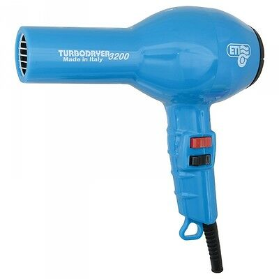 ETI Turbo Hair Dryer 3200 Professional. BLUE. For Drying hair & Styling