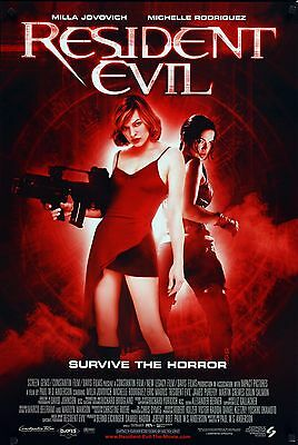 Resident Evil Laminated Mini A4 Movie Poster Mila Jovich