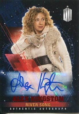 Doctor Who Timeless Red Parallel [##/10] Autograph Card Alex Kingston