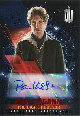 Doctor Who Timeless Red Parallel [##/10] Autograph Card Paul McGann
