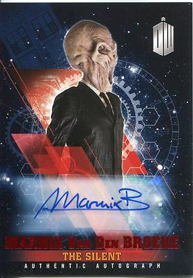 Doctor Who Timeless Red Parallel [##/10] Autograph Card Marnix Van Den Broeke