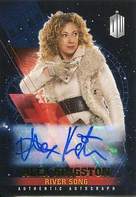 Doctor Who Timeless Gold Parallel [1/1] Autograph Card Alex Kingston