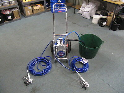 DF330 Airless Paint Sprayer 210 bar with 2 Hoses and 2 Airless Spray Guns