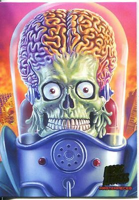 Mars Attacks Invasion Masterpieces Chase Card #5