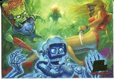 Mars Attacks Invasion Masterpieces Chase Card #1