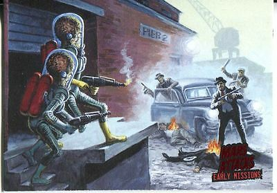 Mars Attacks Invasion Early Missions Chase Card #1
