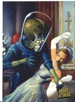 Mars Attacks Invasion Gold Stamped Parallel Base Card #88