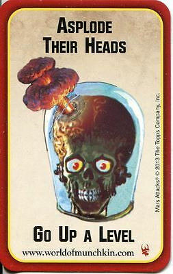 Mars Attacks Invasion Munchkin Apocalypse Chase Card