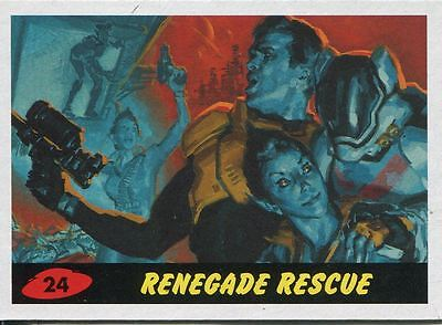 Mars Attacks Invasion Heritage Parallel Base Card #24