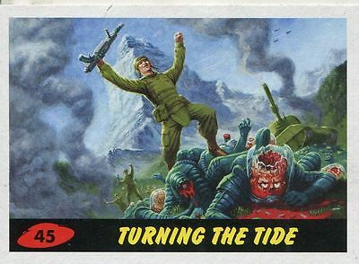 Mars Attacks Invasion Heritage Parallel Base Card #45