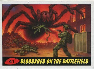 Mars Attacks Invasion Heritage Parallel Base Card #41