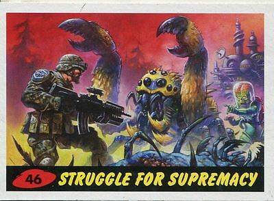 Mars Attacks Invasion Heritage Parallel Base Card #46