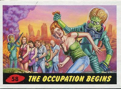 Mars Attacks Invasion Heritage Parallel Base Card #58