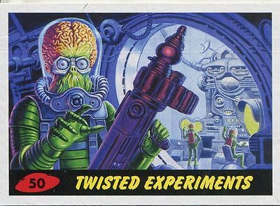 Mars Attacks Invasion Heritage Parallel Base Card #50
