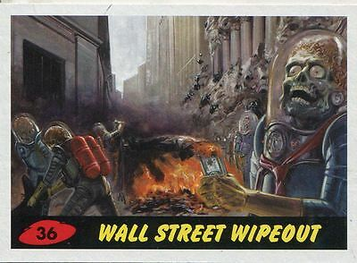 Mars Attacks Invasion Heritage Parallel Base Card #36