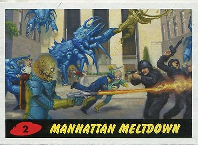 Mars Attacks Invasion Heritage Parallel Base Card #2