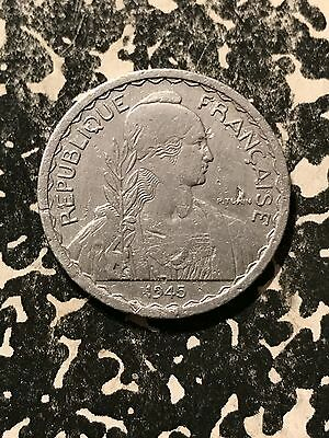 1945 French indo-China 20 Centime Lot#4203