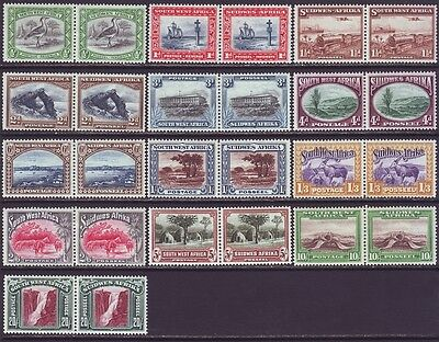 South West Africa 1931 SC 108-120 MH Set