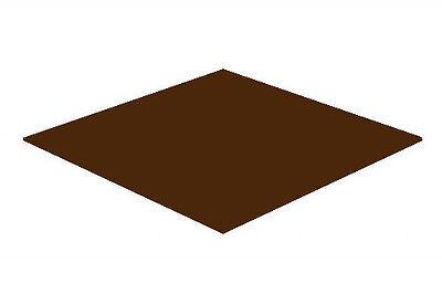 Brown Gloss Acrylic Perspex Sheet Colour Cast Cut to Size Panel Plastic kitchen