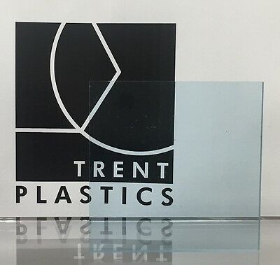 Light Blue Tinted Perspex Acrylic Plastic Sheet Cut to Size Tint Cast Coloured