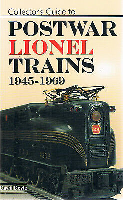 book - Collector's Guide to POSTWAR LIONEL TRAINS 1945-1969 by David Doyle